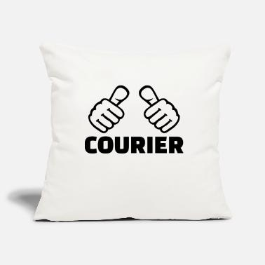 Courier Courier - Pillowcase 17,3'' x 17,3'' (45 x 45 cm)