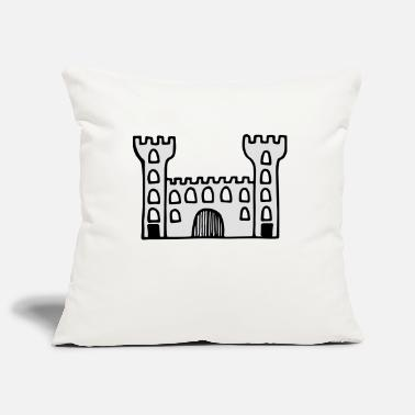Castle castle - Pillowcase 17,3'' x 17,3'' (45 x 45 cm)