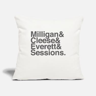 Milligan Cleese Everett Sessions (grey text) - Pillowcase 17,3'' x 17,3'' (45 x 45 cm)