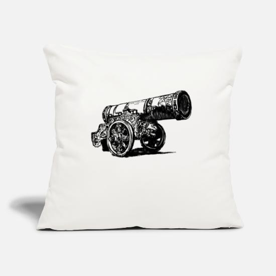 Special Forces Pillow Cases - cannon - Pillowcase 17,3'' x 17,3'' (45 x 45 cm) natural white