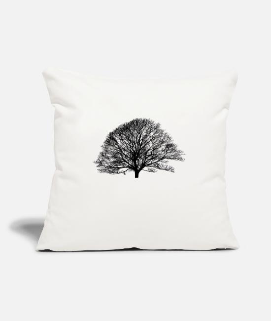 Father's Day Pillow Cases - Shadow_no logo - Pillowcase 17,3'' x 17,3'' (45 x 45 cm) natural white