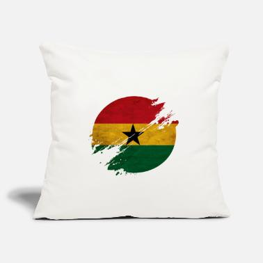 Kumasi Ghana district - Pillowcase 17,3'' x 17,3'' (45 x 45 cm)