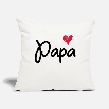 Papa Papa - For the papa - Pillowcase 17,3'' x 17,3'' (45 x 45 cm)