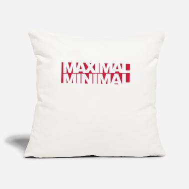 Minimum Inverser minimum maximum - Housse de coussin