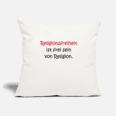 Religious religious freedom - Pillowcase 17,3'' x 17,3'' (45 x 45 cm)