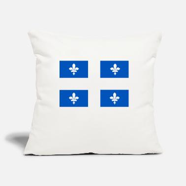 Quebec flag - Pillowcase 17,3'' x 17,3'' (45 x 45 cm)