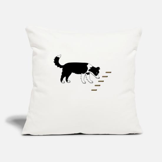 Cute Dog Pillow Cases - Obedience 1 - Pillowcase 17,3'' x 17,3'' (45 x 45 cm) natural white