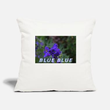 Blue BLUE BLUE - Pillowcase 17,3'' x 17,3'' (45 x 45 cm)