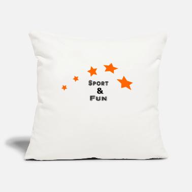 Fun Sports Sports and fun - Pillowcase 17,3'' x 17,3'' (45 x 45 cm)