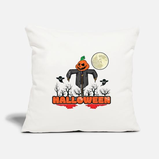Horror Pillow Cases - Halloween Season Greetings - Pillowcase 17,3'' x 17,3'' (45 x 45 cm) natural white