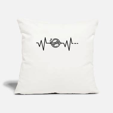 Smoking Heartbeat No Smoking, No Smoking, No Smoking - Pillowcase 17,3'' x 17,3'' (45 x 45 cm)