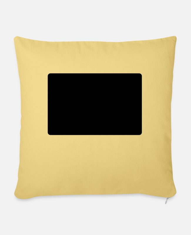 Greeting Pillow Cases - hello my name is murray - Pillowcase 17,3'' x 17,3'' (45 x 45 cm) washed yellow