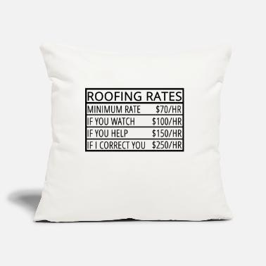 Roof Roofing: Roofing Rates - Pillowcase 17,3'' x 17,3'' (45 x 45 cm)