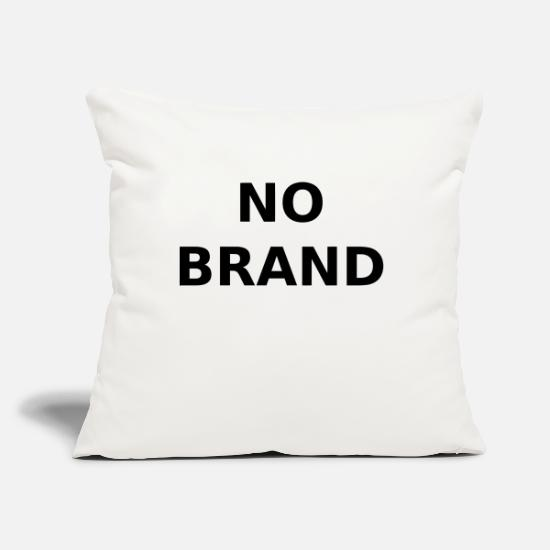 Branding Pillow Cases - NO BRAND - No brand - Pillowcase 17,3'' x 17,3'' (45 x 45 cm) natural white