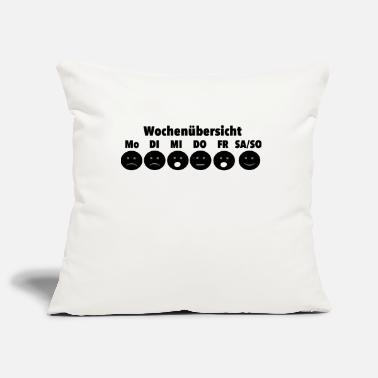 Week week - Pillowcase 17,3'' x 17,3'' (45 x 45 cm)