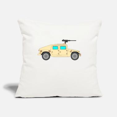 Vehicle Military vehicle - Pillowcase 17,3'' x 17,3'' (45 x 45 cm)