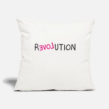 Revolution revolution - Pillowcase 17,3'' x 17,3'' (45 x 45 cm)