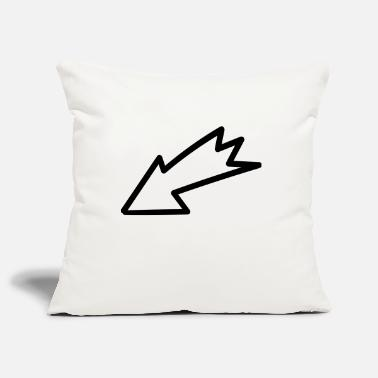 Arrow Arrow - Arrow - Pillowcase 17,3'' x 17,3'' (45 x 45 cm)