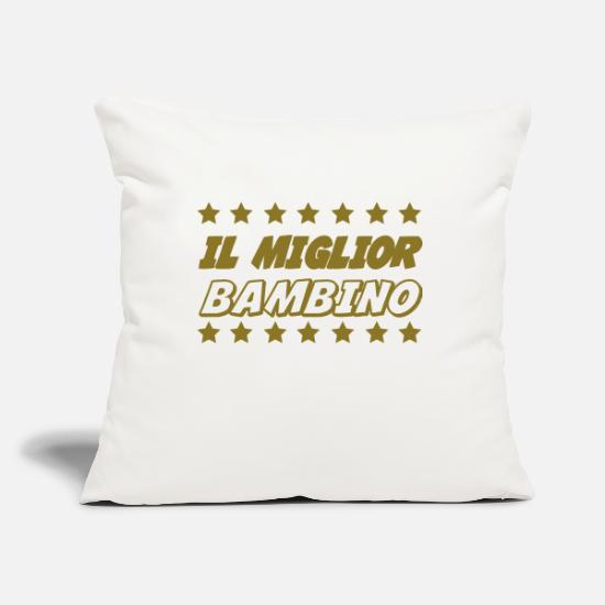 Dad Pillow Cases - Il miglior bambino - Pillowcase 17,3'' x 17,3'' (45 x 45 cm) natural white