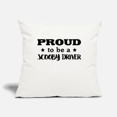Scooby scooby driver proud to be - Pillowcase 17,3'' x 17,3'' (45 x 45 cm)
