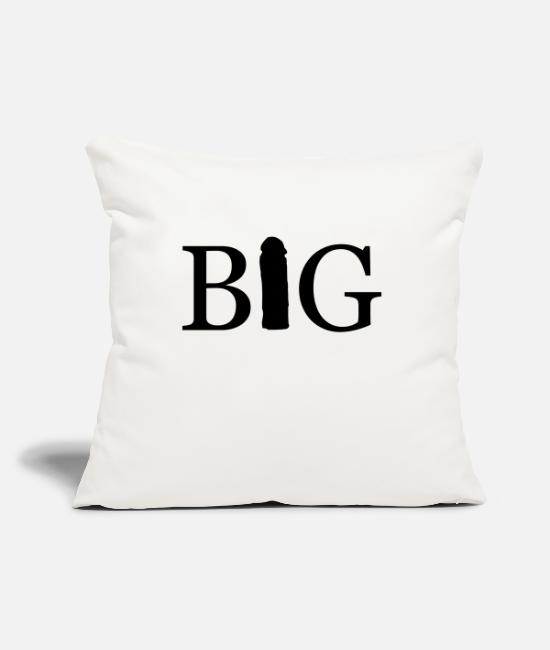Big Pillow Cases - big - Pillowcase 17,3'' x 17,3'' (45 x 45 cm) natural white