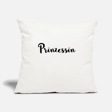 Hand Lettering Princess lettering hand lettered - Pillowcase 17,3'' x 17,3'' (45 x 45 cm)