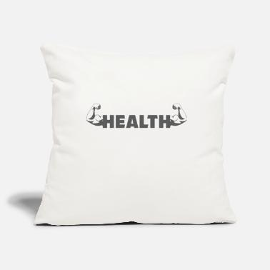 Gym - Bicep - Helath - Pillowcase 17,3'' x 17,3'' (45 x 45 cm)