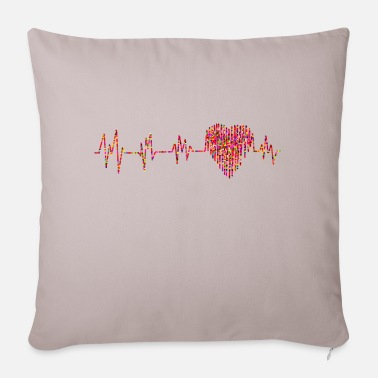 Tact Heart tact - Pillowcase 17,3'' x 17,3'' (45 x 45 cm)