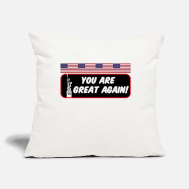 USA America Biden saying - Pillowcase 17,3'' x 17,3'' (45 x 45 cm)