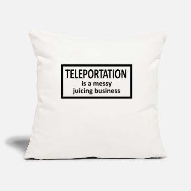 Teleport Teleportation - Pillowcase 17,3'' x 17,3'' (45 x 45 cm)