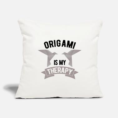 Origami origami - Pillowcase 17,3'' x 17,3'' (45 x 45 cm)
