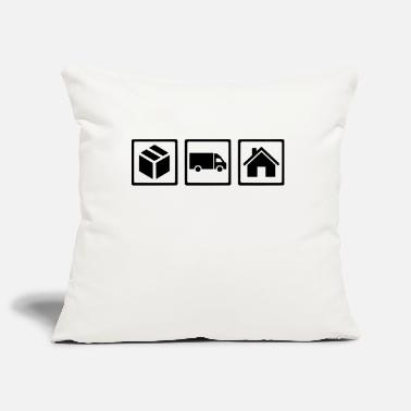 Delivery Delivery guy - Pillowcase 17,3'' x 17,3'' (45 x 45 cm)