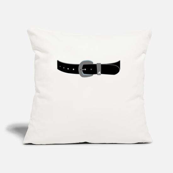 Jewelry Pillow Cases - Sash - Pillowcase 17,3'' x 17,3'' (45 x 45 cm) natural white