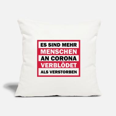 Fake Anti Corona - Kissenhülle