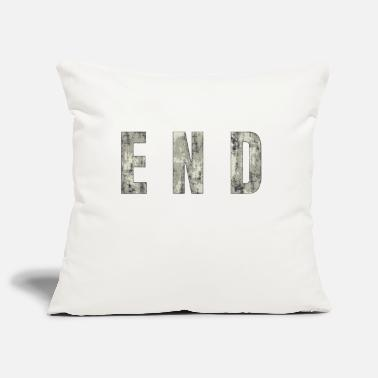 End END - The End - Pillowcase 17,3'' x 17,3'' (45 x 45 cm)