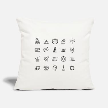 Icon Icons - Pillowcase 17,3'' x 17,3'' (45 x 45 cm)