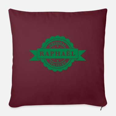 Birth Name Raphael - Pillowcase 17,3'' x 17,3'' (45 x 45 cm)