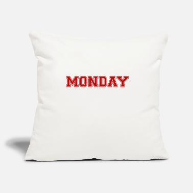 Monday monday - Pillowcase 17,3'' x 17,3'' (45 x 45 cm)