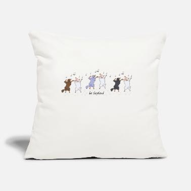 Australian Shepherds and Sheep - Pillowcase 17,3'' x 17,3'' (45 x 45 cm)