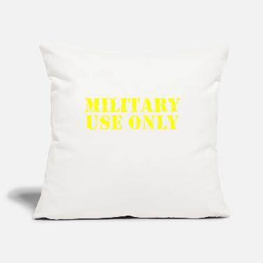 MILITARY USE ONLY ERRODED - Pillowcase 17,3'' x 17,3'' (45 x 45 cm)