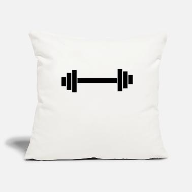 dumbbell - Pillowcase 17,3'' x 17,3'' (45 x 45 cm)