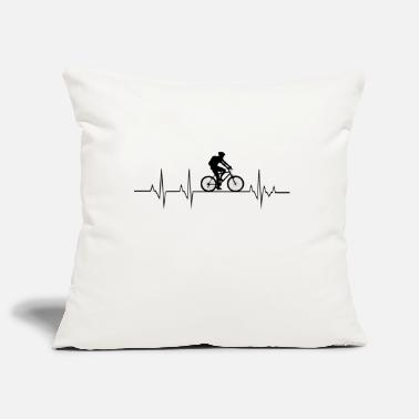 Heartbeat Bike - Pillowcase 17,3'' x 17,3'' (45 x 45 cm)