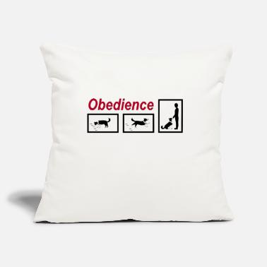 Obedience Obedience - Pillowcase 17,3'' x 17,3'' (45 x 45 cm)