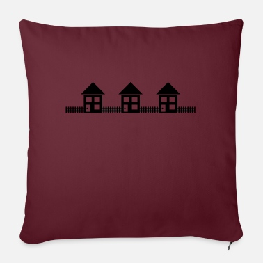 Neighborhood Neighborhood Houses - Pillowcase 17,3'' x 17,3'' (45 x 45 cm)