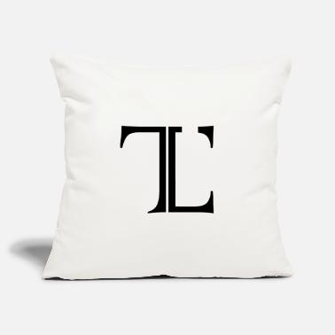 Tlc Logo original intemporel - Housse de coussin