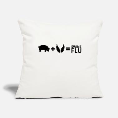 Flu The swine flu - Pillowcase 17,3'' x 17,3'' (45 x 45 cm)
