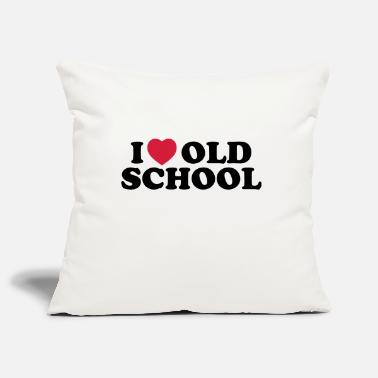 I Dance Old School I love old school - Pillowcase 17,3'' x 17,3'' (45 x 45 cm)