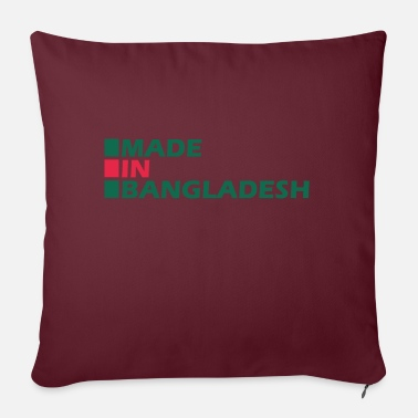Made in Bangladesh - Pillowcase 17,3'' x 17,3'' (45 x 45 cm)