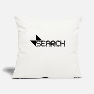 Search SEARCH - Pillowcase 17,3'' x 17,3'' (45 x 45 cm)