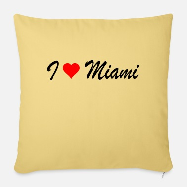 Miami Miami - Pillowcase 17,3'' x 17,3'' (45 x 45 cm)